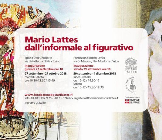 Mario Lattes – Dall'informale al figurativo
