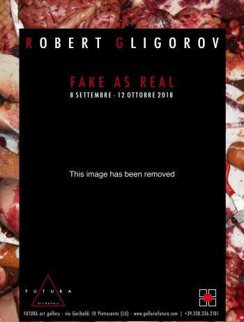 Robert Gligorov – Fake is real