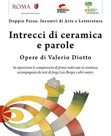 Valerio Diotto – Intrecci di ceramiche e parole
