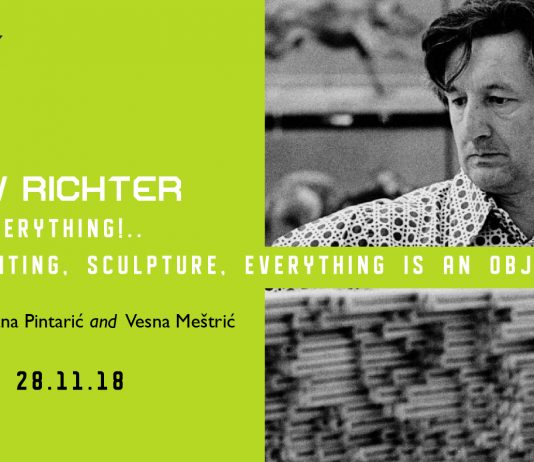 Vjenceslav Richter – Object – that is everything! Architecture, painting, sculpture, everything is an object!