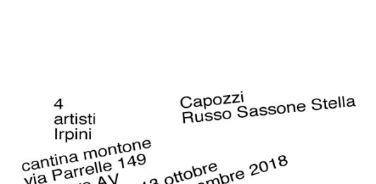 4 artisti Irpini. Capozzi / Russo / Sassone / Stella