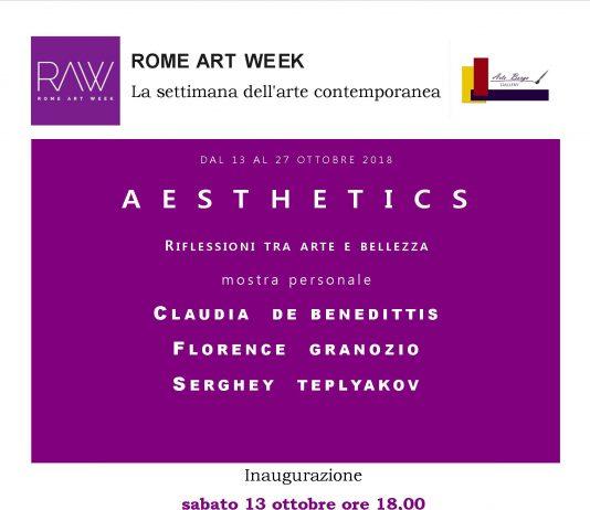 De Benedittis / Granozio / Teplyakov – Aesthetics