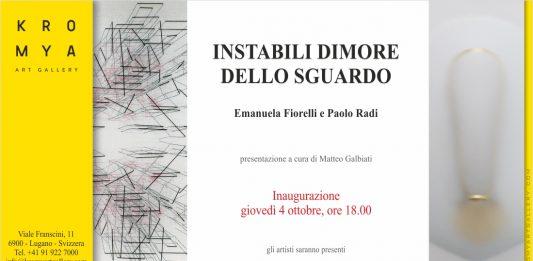 Emanuela Fiorelli / Paolo Radi  – Camere 2_Instabili Dimore dello Sguardo