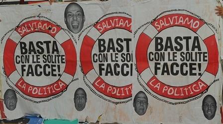Pino Boresta  – M.E.R.d.A. Manifesti Elettorali Rettificati da Asporto
