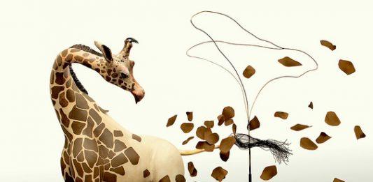 Sandro Gorra  – Noi, giraffe nude. Sculture, illustrazioni e dipinti
