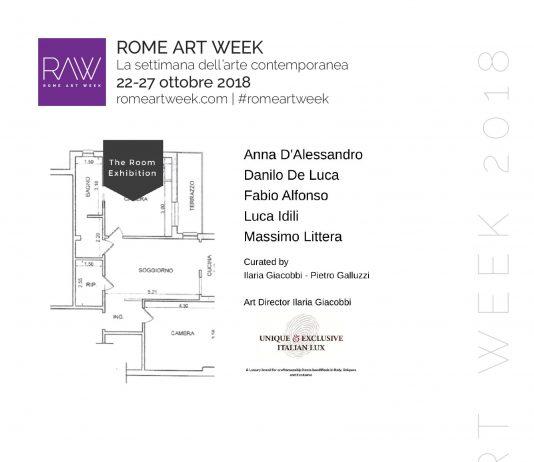 The Room Exhibition al Rome Art Week