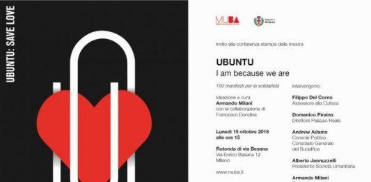 Ubuntu – I am because we are: 150 manifesti per la solidarietà