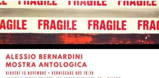 Alessio Bernardini –  Mostra Antologica