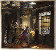 Antonio Campi -Santa Caterina visitata in carcere dall'imperatrice Faustina