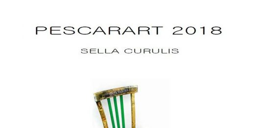 Biennale IX Edizione. Pescarart 2018  – Sella curulis