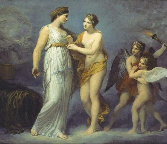 La storia dell'arte in galleria #6: Figure mitologiche tra cielo e terra, nell'arte di Andrea Appiani