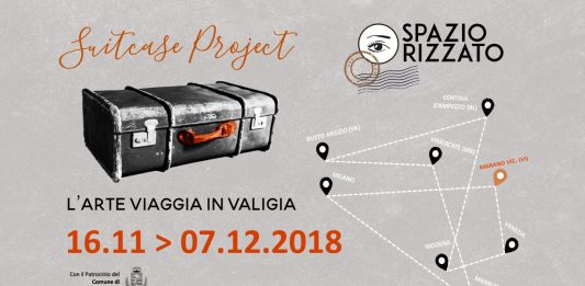 Suitcase Project: L'Arte viaggia in valigia