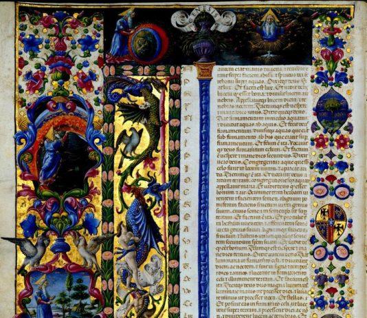 Cantieri paralleli. Lo studiolo di Belfiore e la Bibbia di Borso. 1447-1463