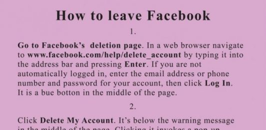 Jeremy Deller – How to leave Facebook