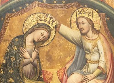 Simone dei Crocifissi – Incoronazione della Vergine