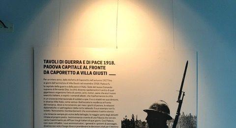 Tavoli di guerra e di pace. 1918 Padova capitale al fronte da Caporetto a Villa Giusti