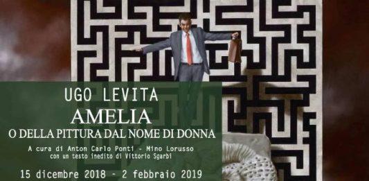Ugo Levita – Amelia o della pittura dal nome di donna