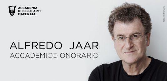 Alfredo Jaar. Laurea Honoris Causa e Premio Josef Svoboda