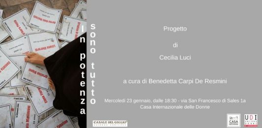 Cecilia Luci – In potenza sono tutto