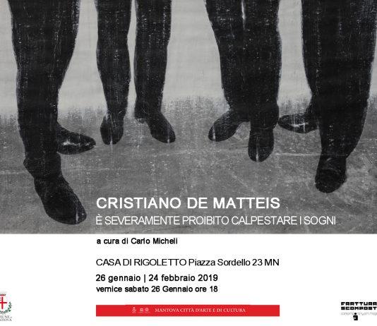 Cristiano De Matteis – È severamente proibito calpestare i sogni