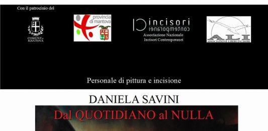 Daniela Savini – Dal quotidiano al nulla