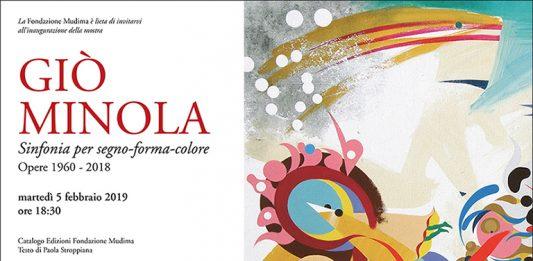 Giò Minola – Sinfonia per segno-forma-colore. Opere 1960- 2018