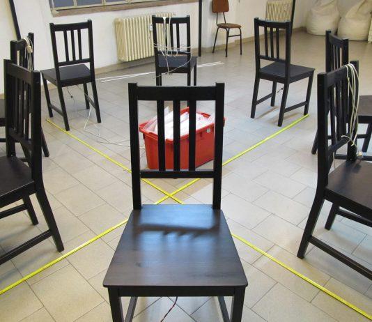 Gruppo MRBB. Sedie: Installazione Interattiva