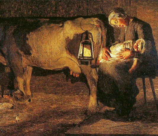 """La storia dell'arte in galleria #8: 1891, Giovanni Segantini, """"Le due madri """""""