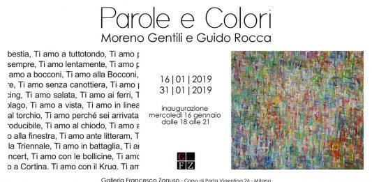 Moreno Gentili / Guido Rocca – Parole e Colori