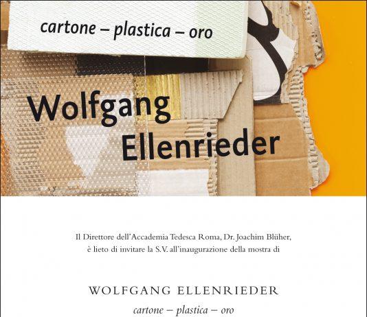 Wolfgang Ellenrieder – Cartone – plastica – oro
