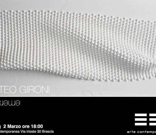 Matteo Gironi – Emersione