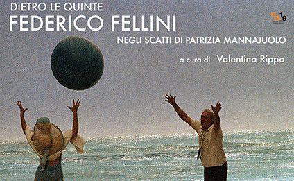 Dietro le quinte. Federico Fellini negli scatti di Patrizia Mannajuolo