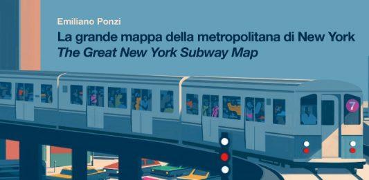 Emiliano Ponzi – La grande mappa della metropolitana di New York – The Great New York Subway Map