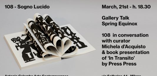 Gallery talk. Spring Equinox: 108