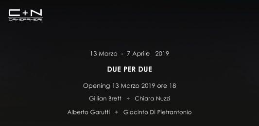 Gillian Brett / Alberto Garutti – Due per Due