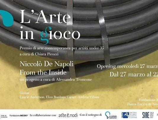 L'Arte in Gioco: Niccolò De Napoli – From the Inside