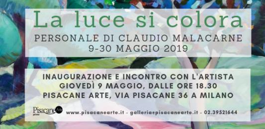 Claudio Malacarne – La luce si colora
