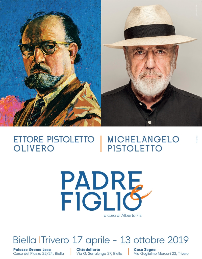 Ettore Pistoletto Olivero / Michelangelo Pistoletto   – Padre e Figlio