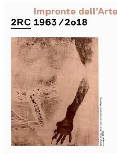 Impronte dell'Arte. 2RC 1963 – 2018
