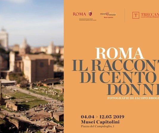 Jacopo Brogioni – Roma: il racconto di 100 donne