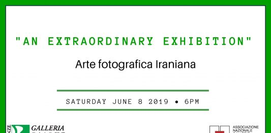 An extraordinary exhibition. Arte fotografica Iraniana