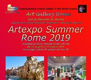 Artexpo Summer Rome 2019