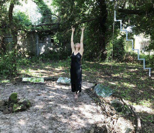 Ginny Sykes –  Collaborations beyond the veil 2019 artegiro. Artist residency