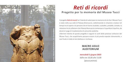 Reti di ricordi. Progetto per la memoria del Museo Tucci