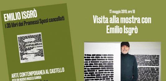 Visita alla mostra con Emilio Isgrò