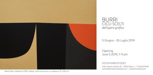 Alberto Burri – Cicli scelti dell'opera grafica