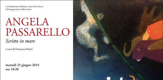 Angela Passarello – Scritto sul mare