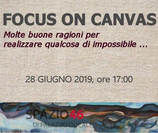 Focus on canvas