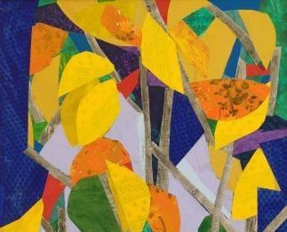 Giorgio Mantici  – Attraverso un bosco colorato