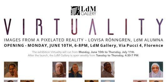 Lovisa Rönngren – Virtuality. Images from a pixelated reality